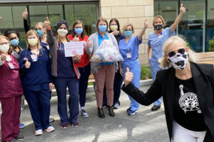 Former state rep uses networking, sewing skills to help during the pandemic